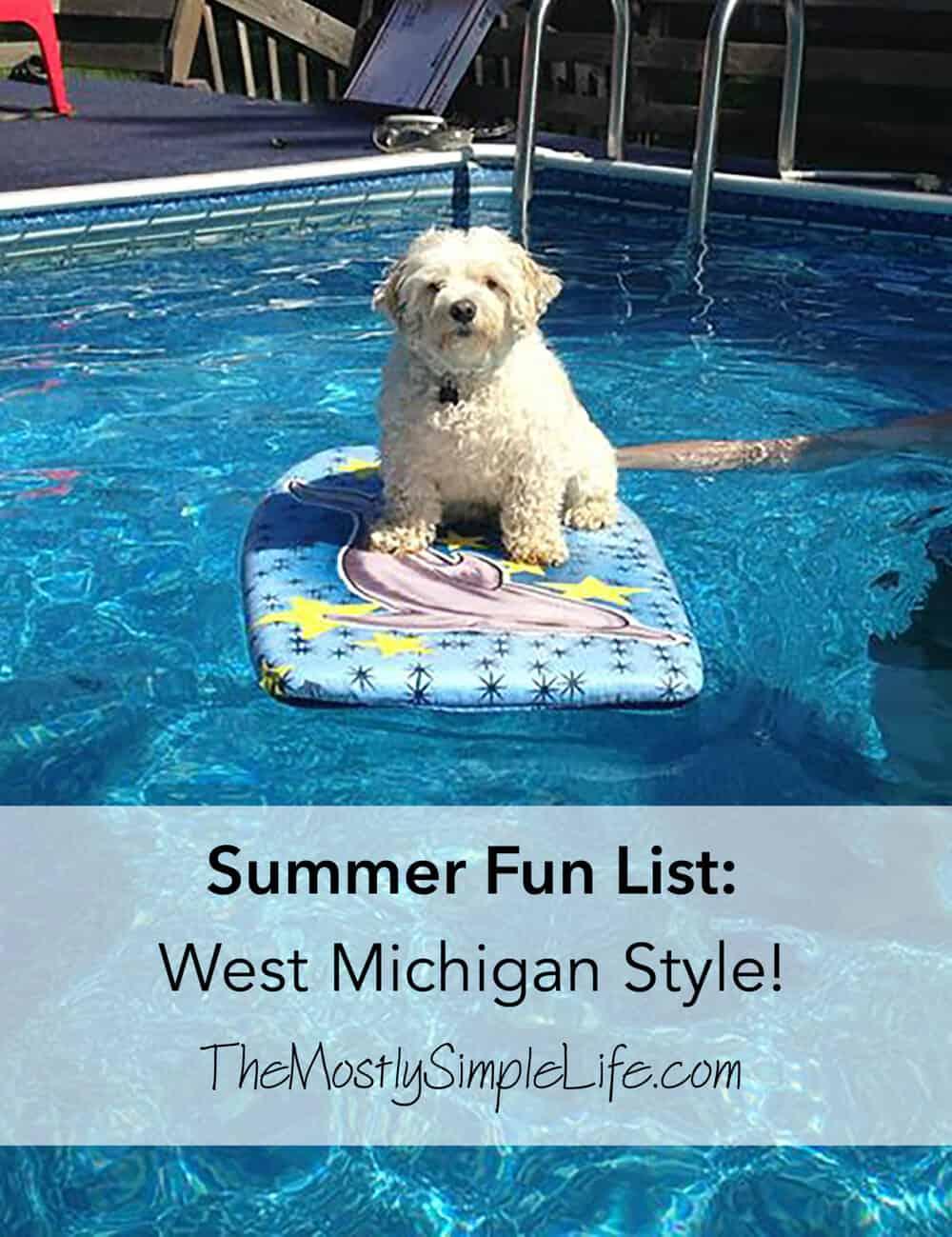 Summer Fun List West Michigan