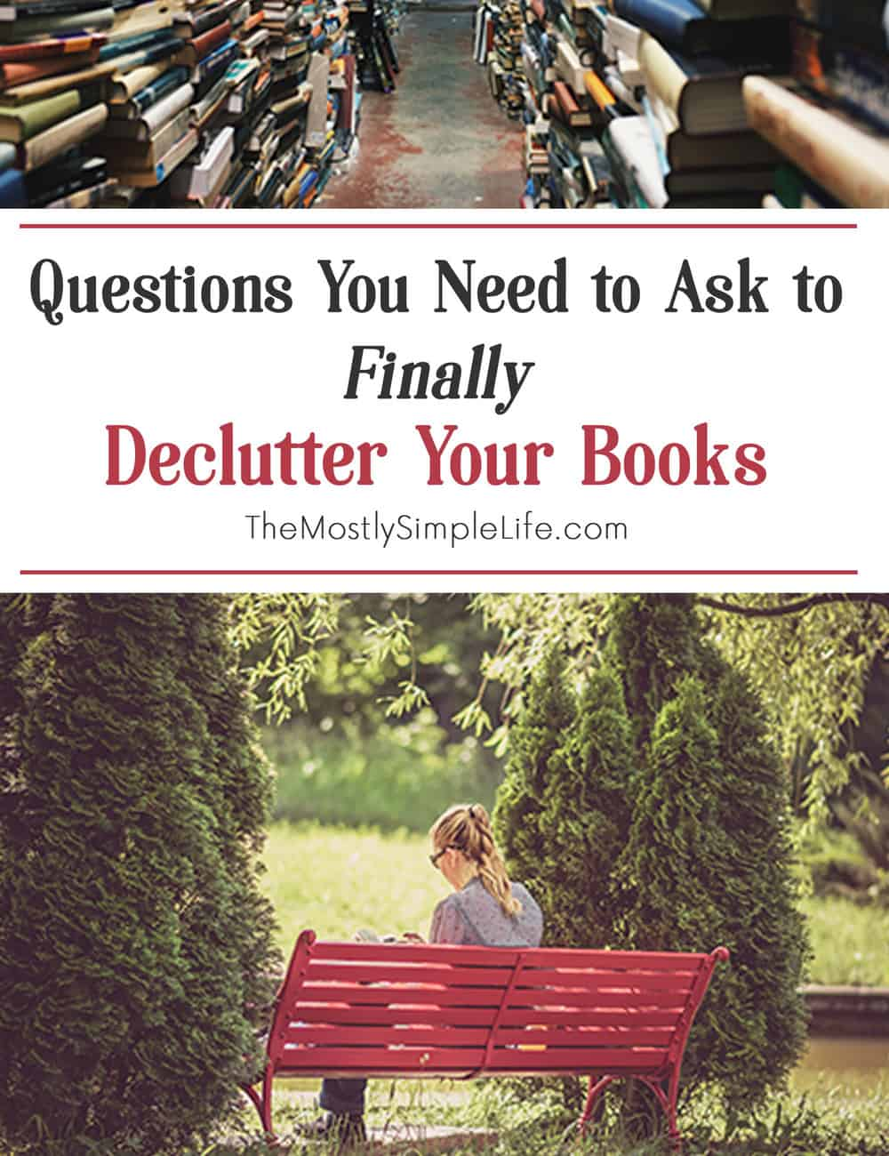 declutter your books feature