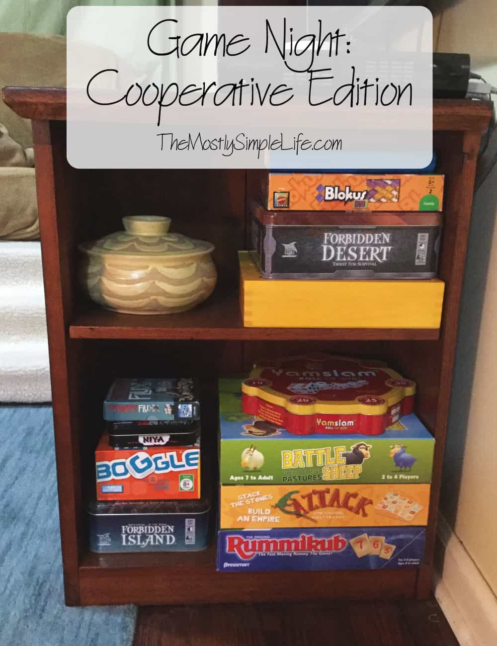 Game Night: Cooperative Edition.