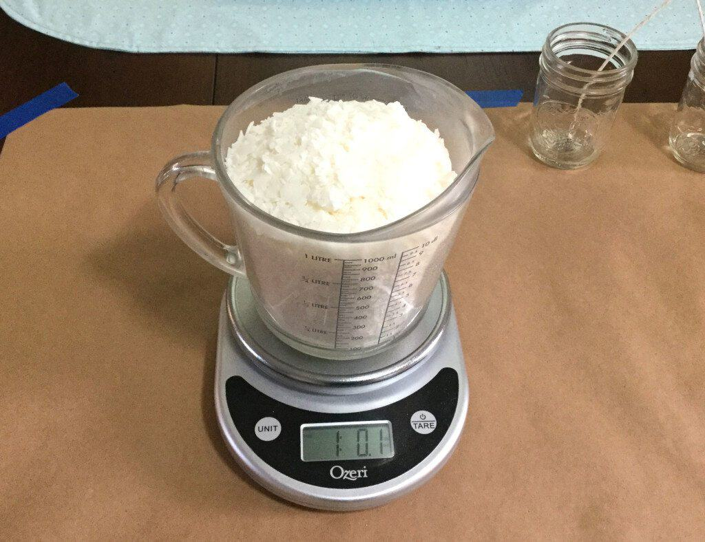 How To Make Your Own Soy Candles - Measure Your Wax