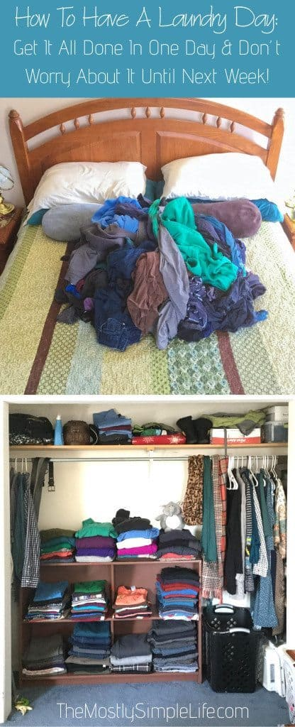 Laundry Day- How To Get It All Done In One Day