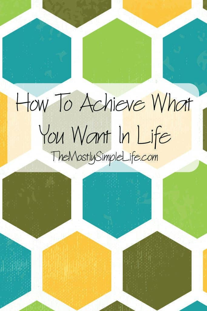 "How to achieve what you want in life: Here's the ""secret"""
