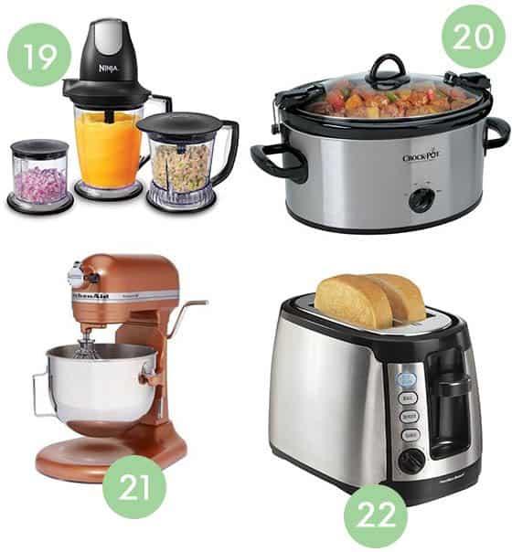 Wedding Registry Essentials Appliances