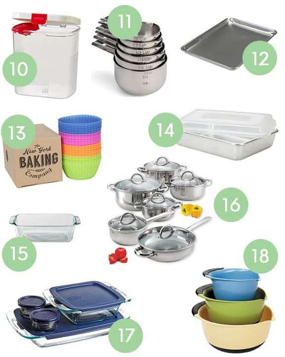 Wedding Registry Essentials Bakeware