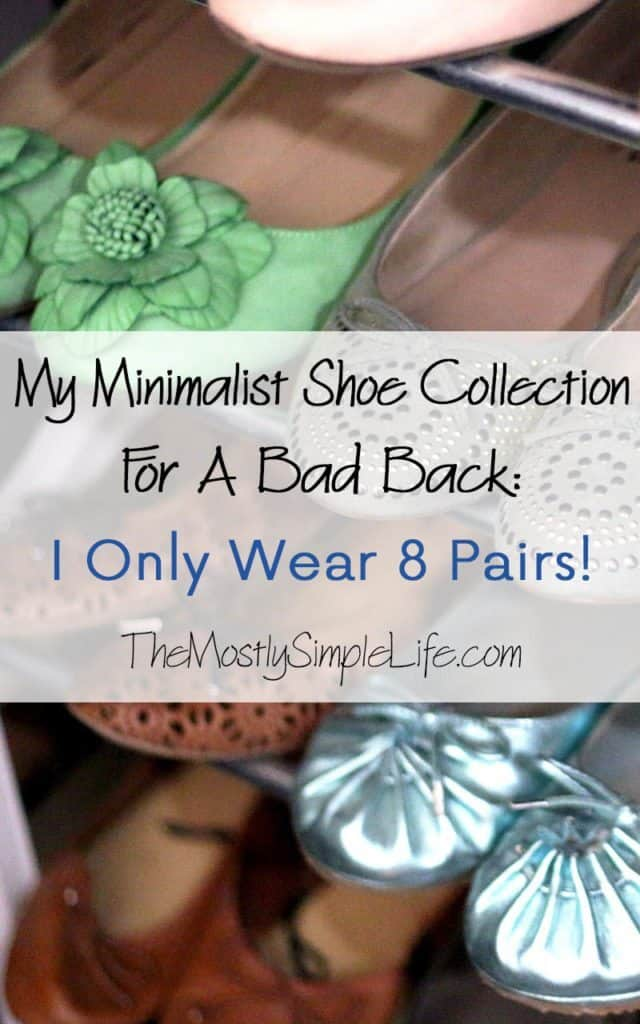 Minimalist Shoes Collection: I Only Wear 8 Pairs of Shoes! + Why It's Worth It to Spend More and Own Less