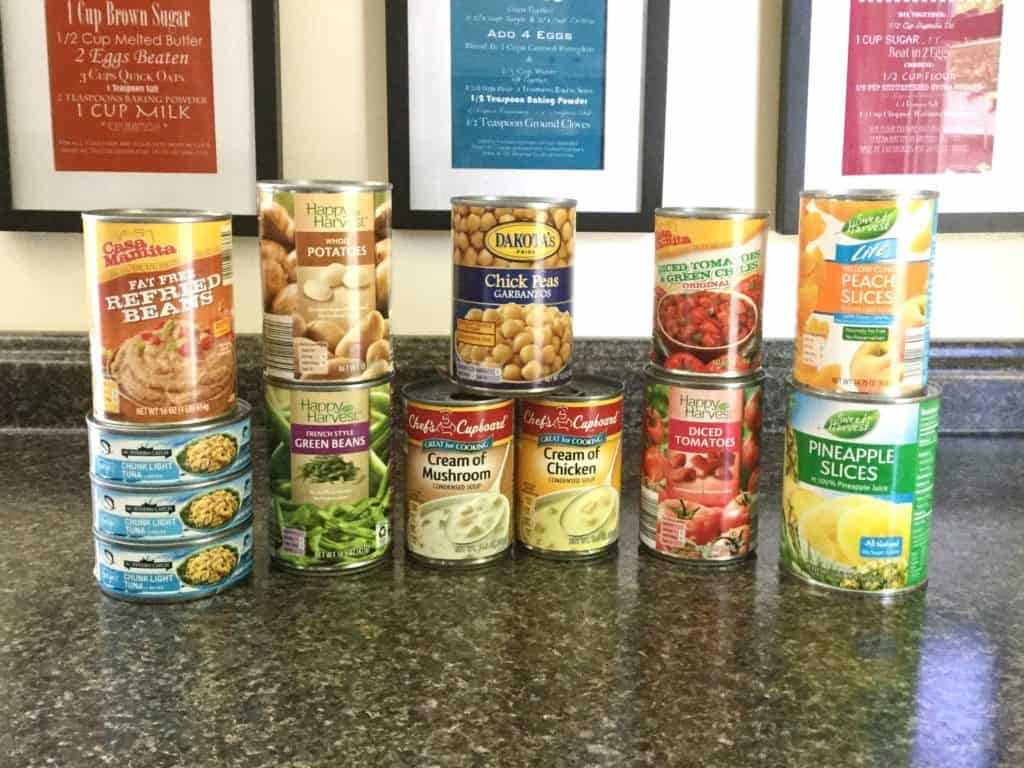 Aldi Canned Goods