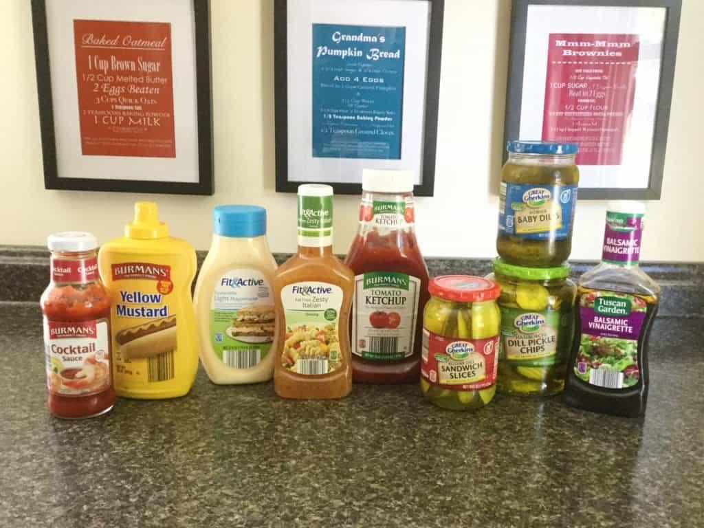 Aldi Condiments