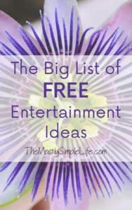 Free entertainment ideas
