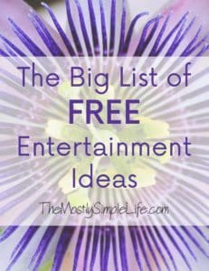 free entertainment ideas feature