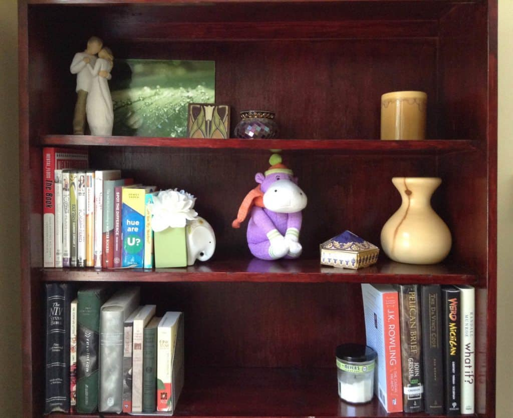 Declutter Your Books Top Bookcase