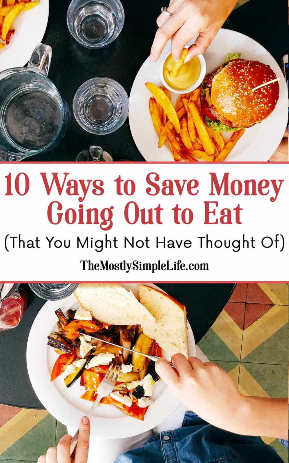 10 Ways to Save Money Going Out to Eat