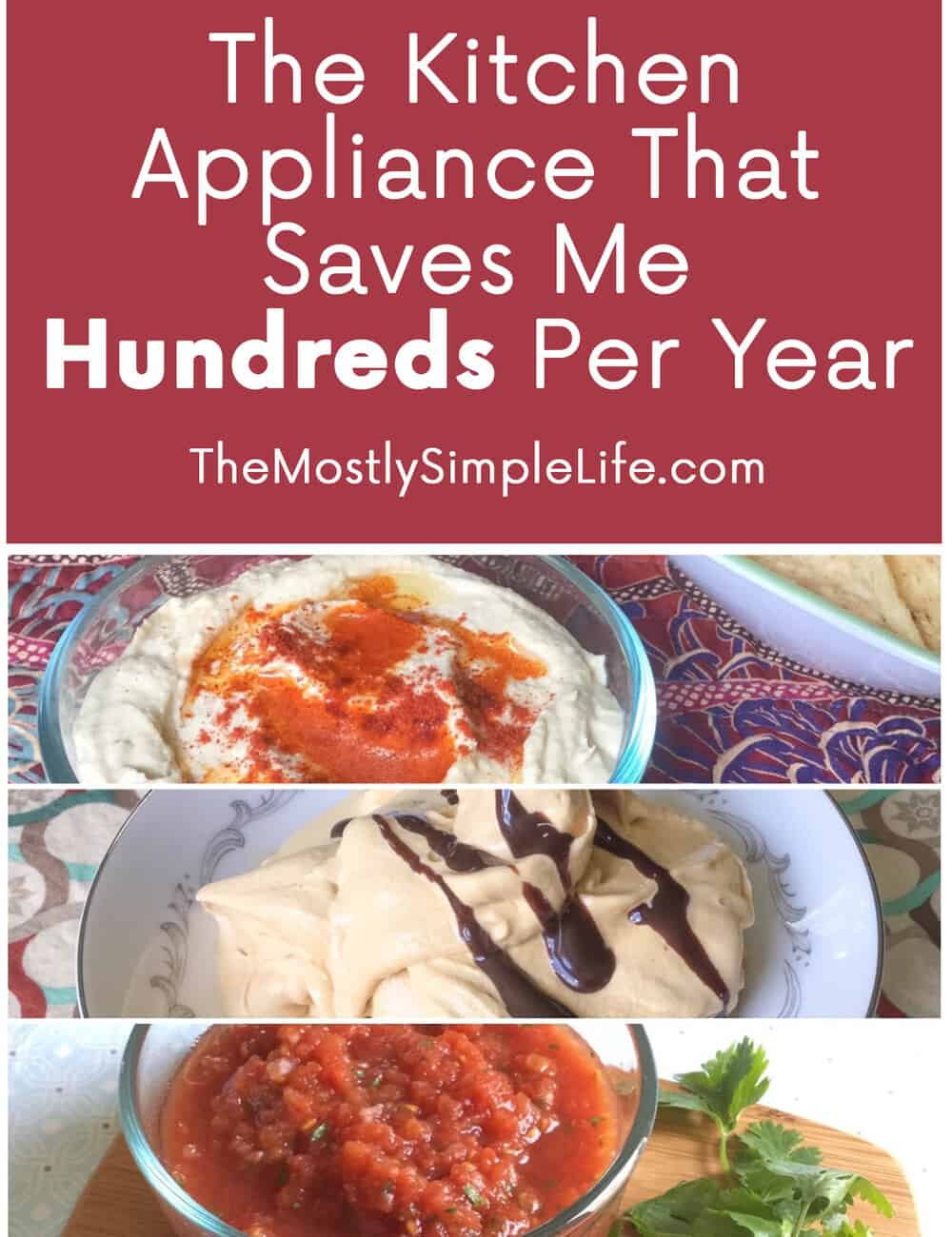 The Kitchen Appliance That Saves Me Hundreds Per Year