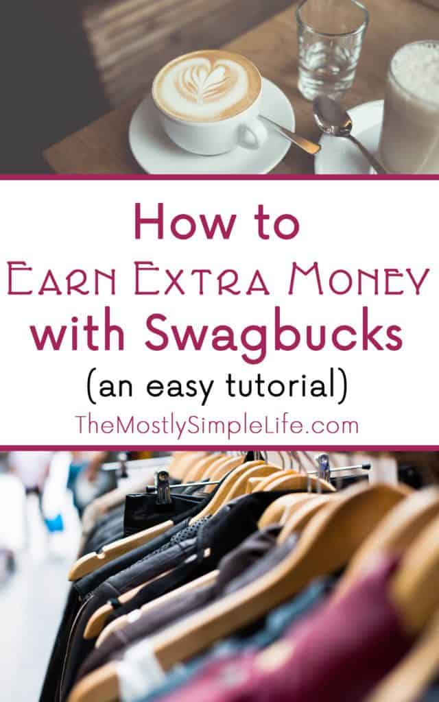 How to Earn Extra Money with Swagbucks | do you want to make some extra money to save up for Christmas or treat yourself to something fun? This is a simple tutorial to help you get started making money with Swagbucks. Click through to learn the simple steps so you can get in on this!