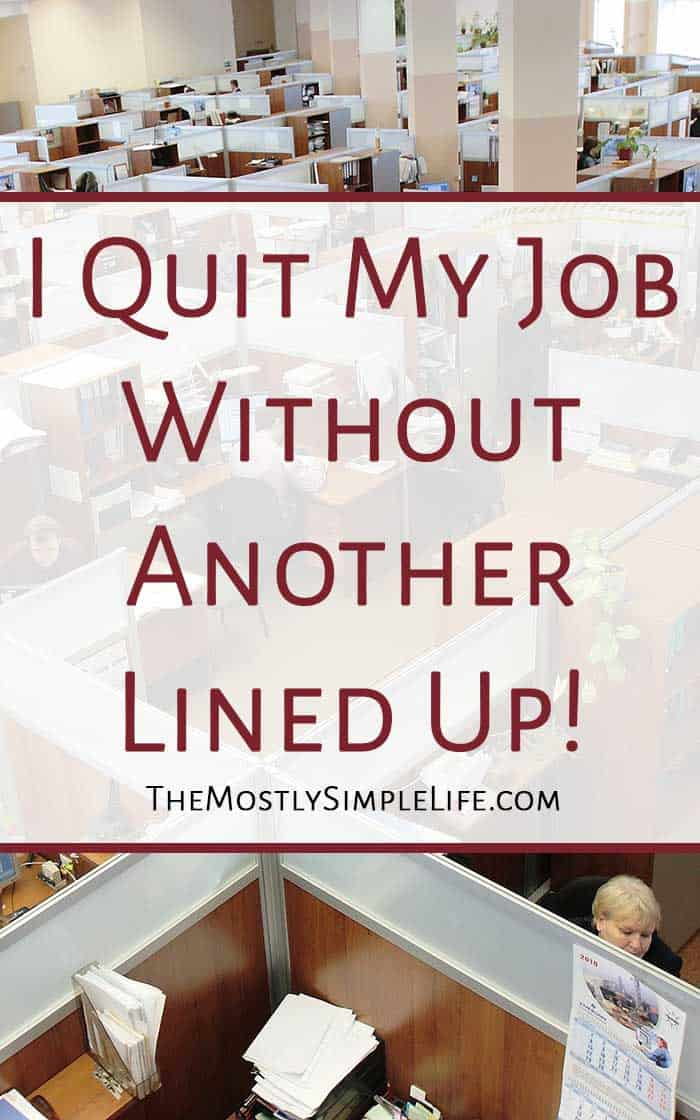 how to make up an excuse to quit withouot liing