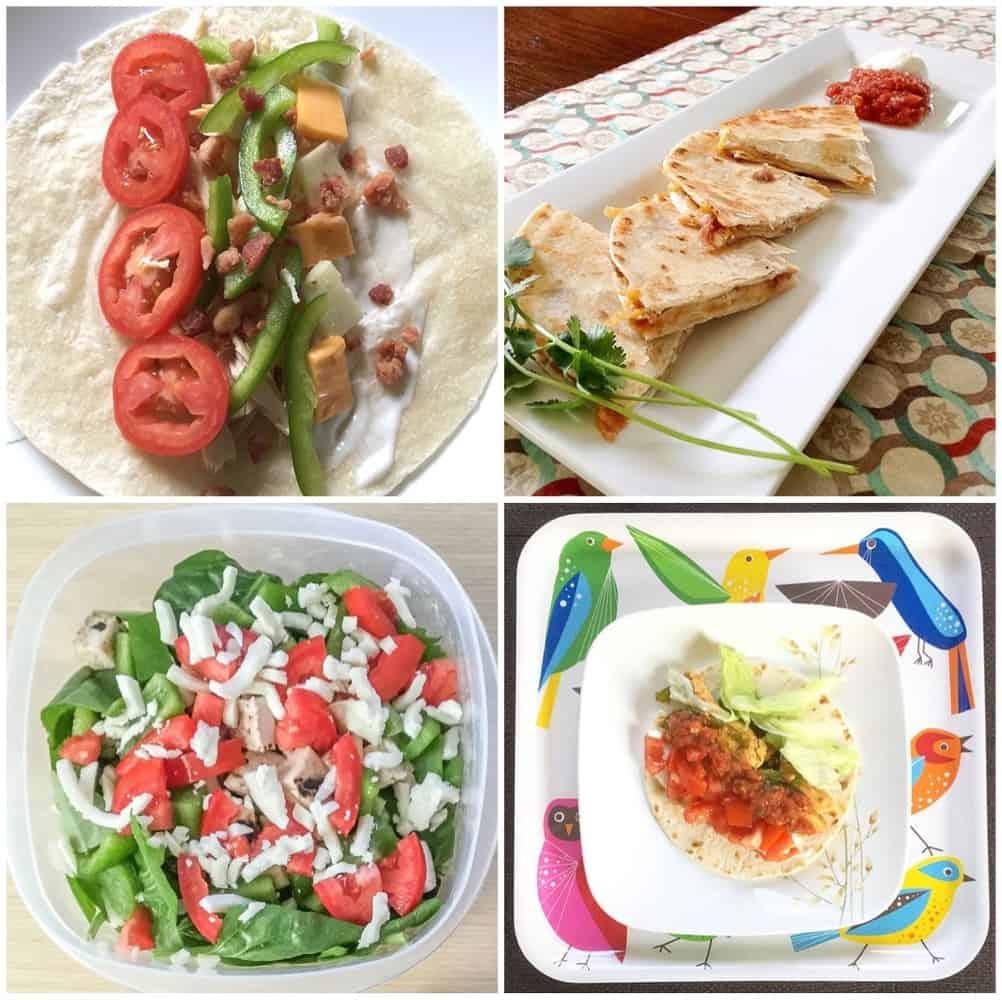 Super Simple Meal Plan + Grocery List (16 ingredients = 6 meals)