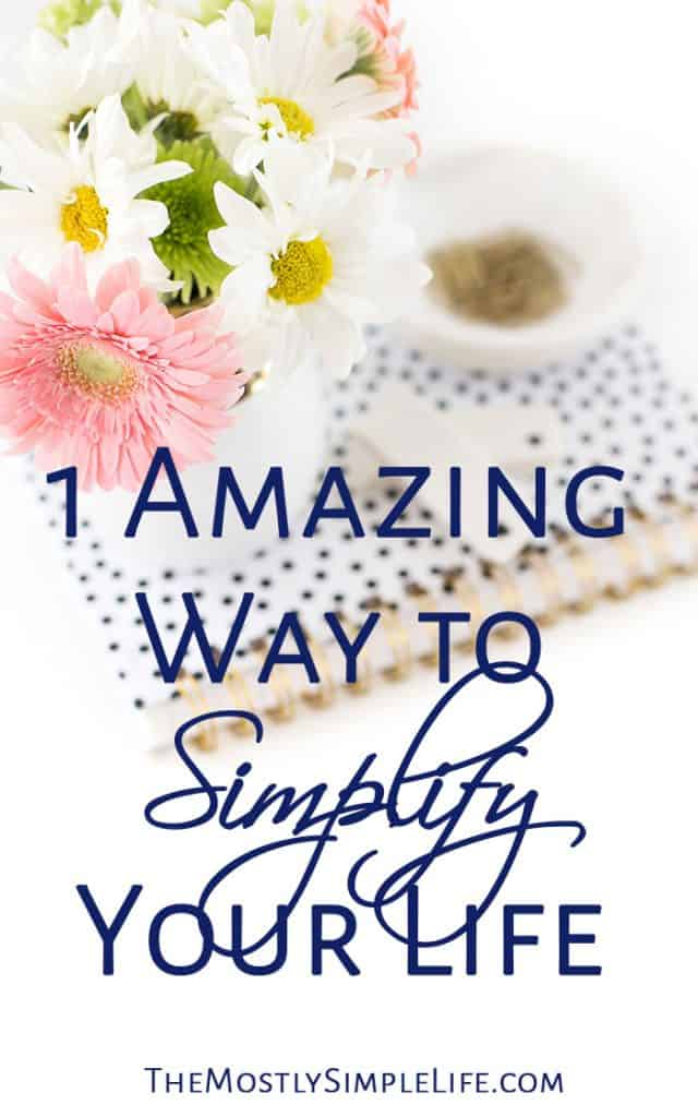 1 Amazing Way to Simplify Your Life | Decision Fatigue | Healthy Routines | Click through for this great tip!