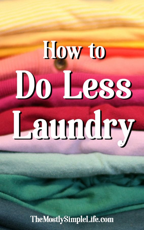 How to Do Less Laundry | Weekly Chores | Laundry System | Laundry Routine | Save Money on Laundry | Read these tips!
