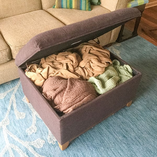 7 Home Organization Solutions   Blankets