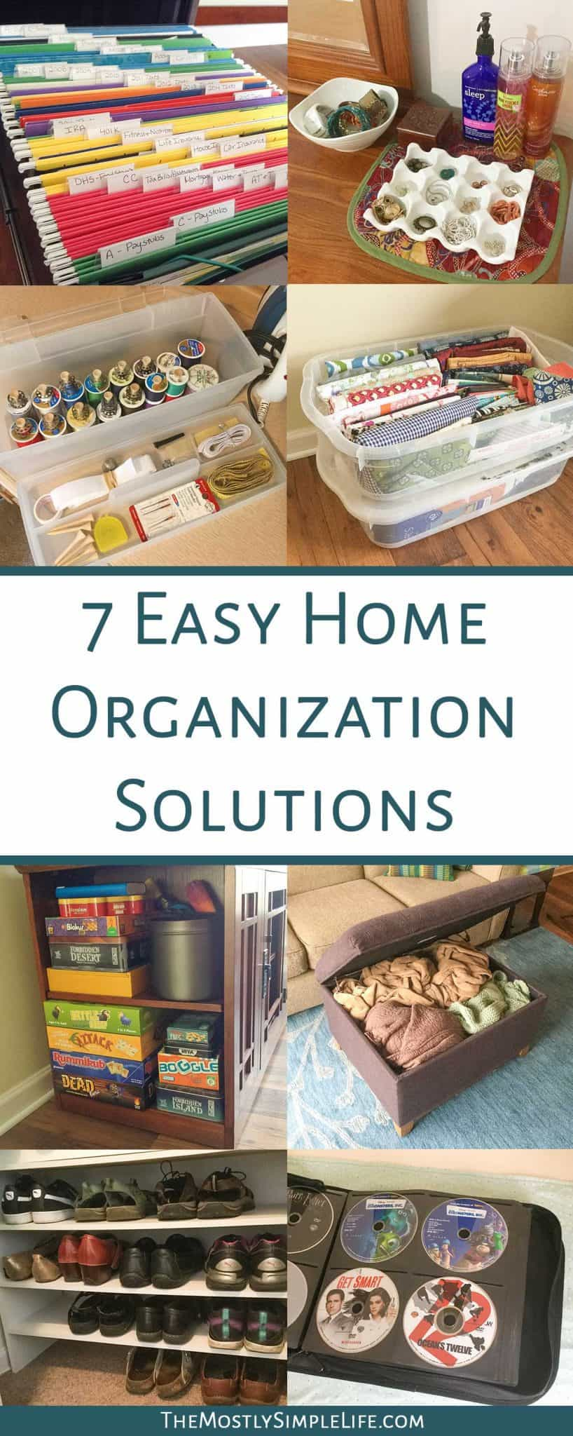 Organization Ideas For The Home | So Many Good Tips For Keeping Sewing And  Craft Stuff