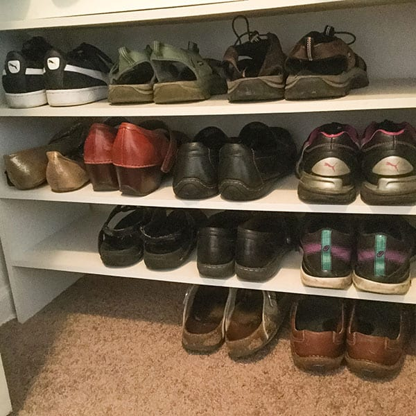 7 Home Organization Solutions   Shoes