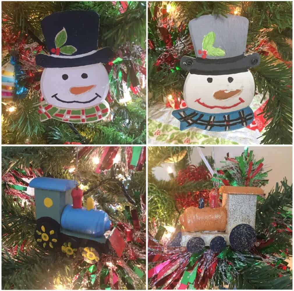 Our Simple Christmas Traditions - Painting Ornaments