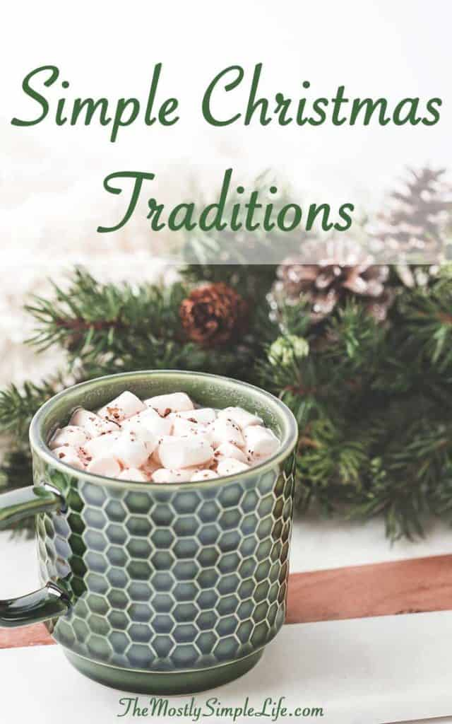 Simple Christmas Traditions | Fun Holiday Activities | Inexpensive Christmas Traditions