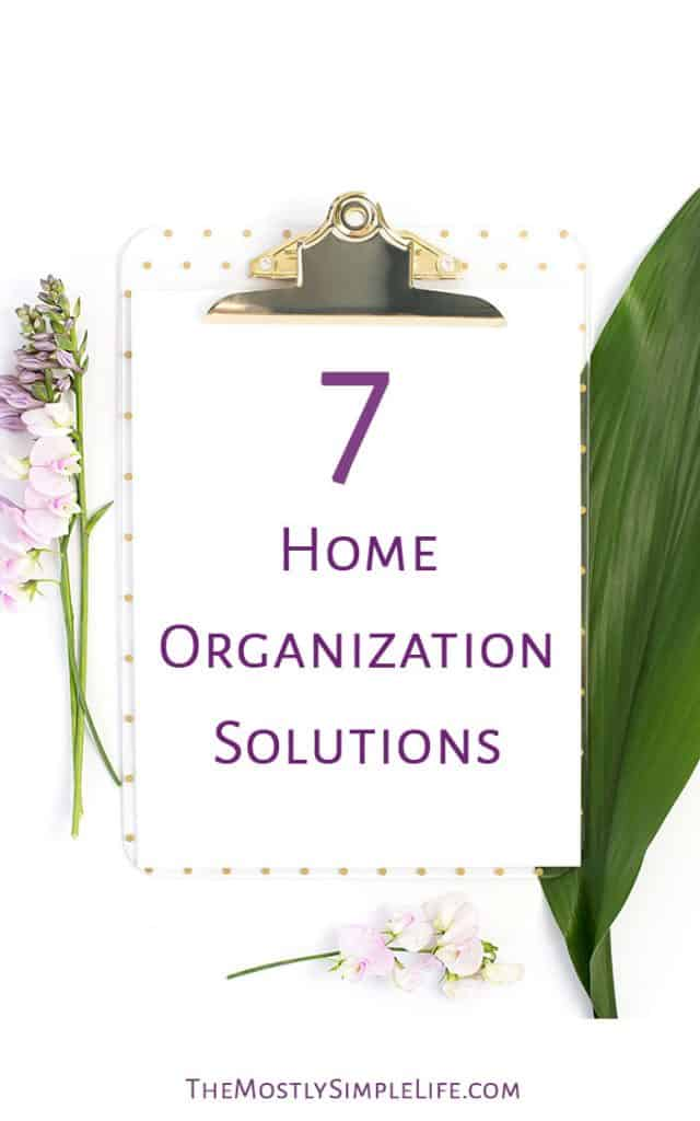 7 Home Organization Solutions   How to organize jewelry, shoes, DVDs...   Home organizing ideas   Click through for some great tips