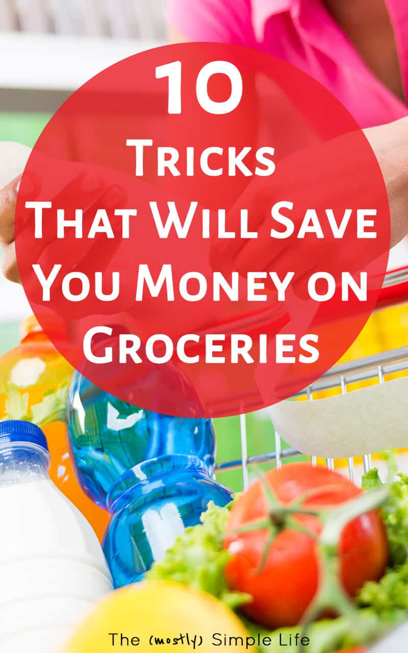 Save Money on Groceries with these Tips | Love that this will help me stick to the grocery budget without using coupons! Plus, ways to eat healthy on a budget. Yay for frugal living :) Keepin' it real with #8, haha!