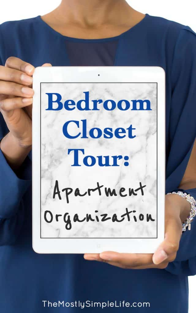 Bedroom Closet Tour: Apartment Organization | Small House Storage | Tool Storage | Closet Organization |