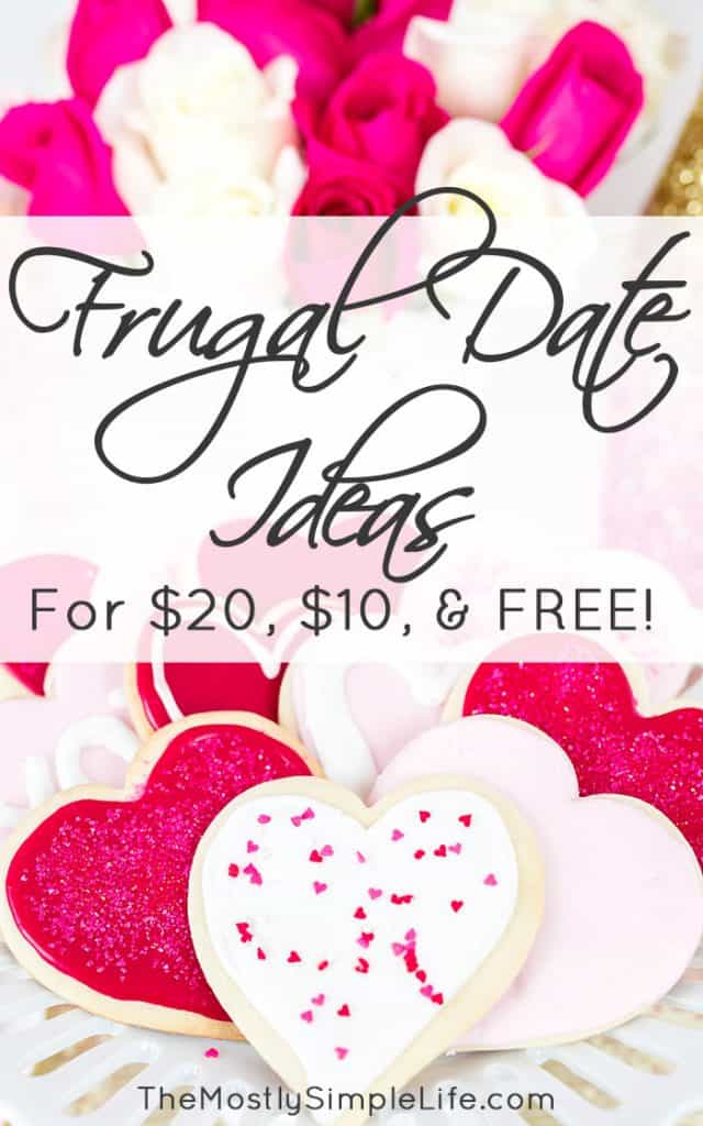 Frugal Date Ideas | Inexpensive Dates | Valentine's Day Date | Free Date Ideas
