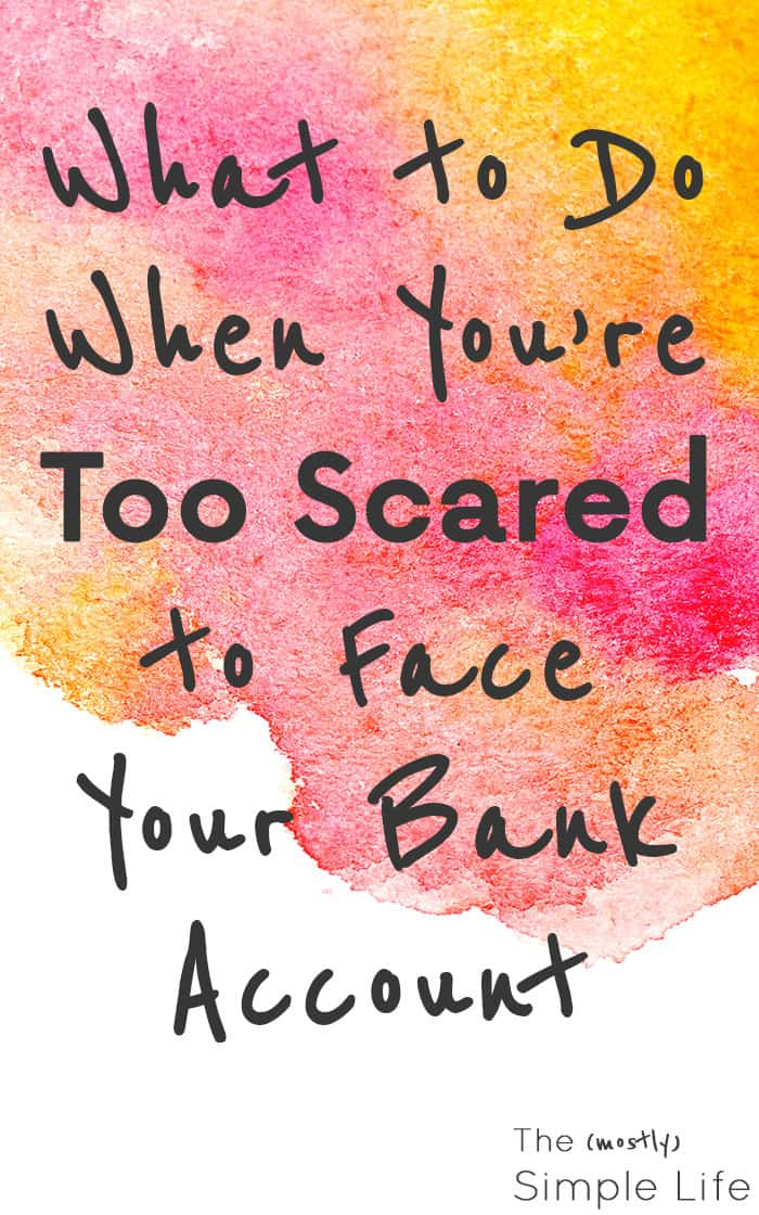 What to Do When You're Scared of Your Financial Situation | Super solid advice for getting to financial freedom! We used to have so much stress and anxiety about money and budgeting, but we got on a budget and used some of these tips to gain independence. So worth it!