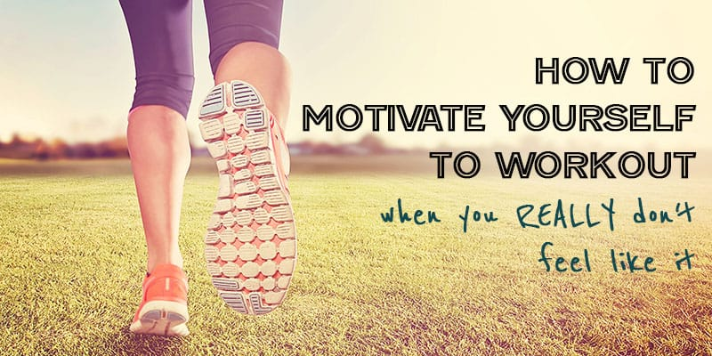 Motivate yourself to workout | Workout motivation | Easy exercise tips | Let's get healthy!