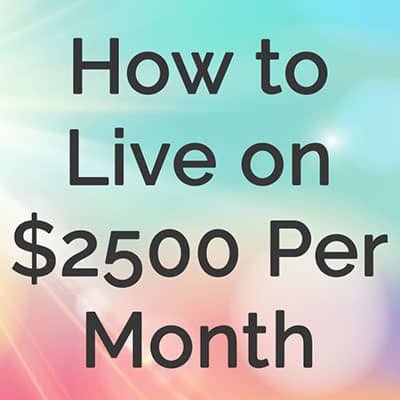 How We Live On Less Than 1500 A Month A Peek At Our Budget The