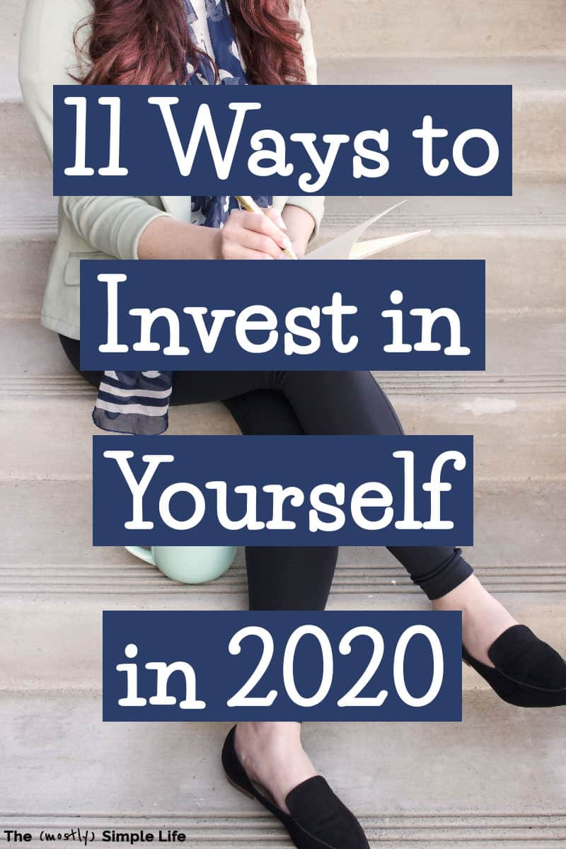 You can afford to invest in yourself! It\'s so important for all women -- in your 20s, in your 30s, and far beyond! Get some ideas and tips for how you can invest in you life, health, career, and more -- even if you don\'t have a lot of money. Great motivation too! #investinyourself #selfcare #2020 #newyears #invest