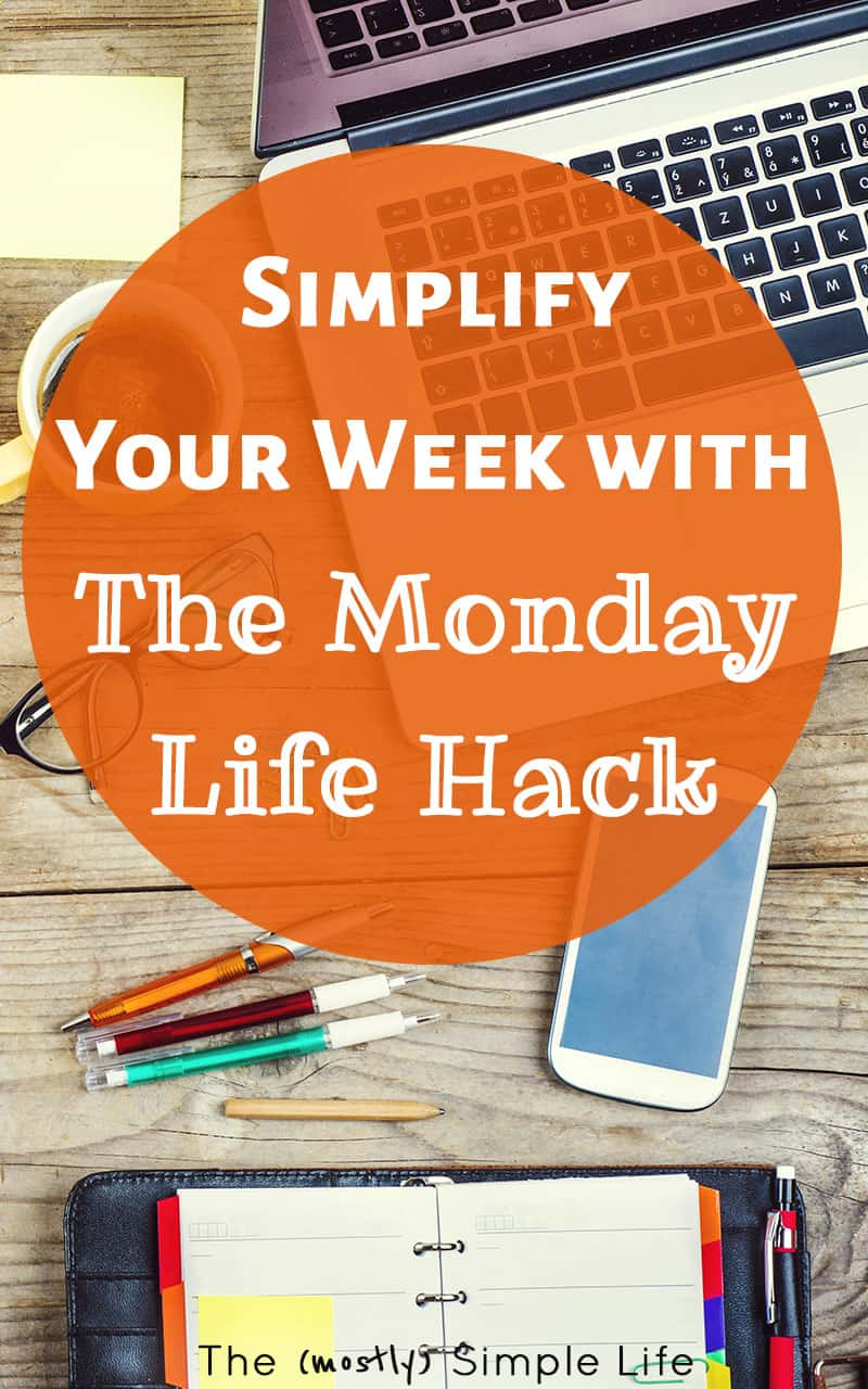 I can't believe I never thought of this simple hack for how to simplify my schedule! I can't stand the