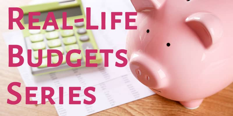 Real Life Budget Example: how to budget to pay off debt