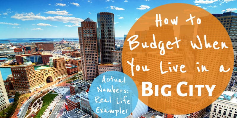 An Real Example of Budgeting in a Big City