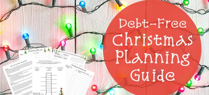 Debt Free Christmas Planning Guide