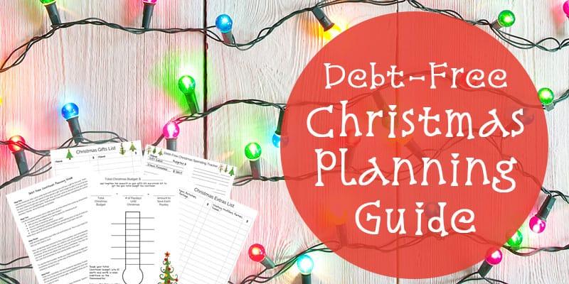 debt free Christmas printable