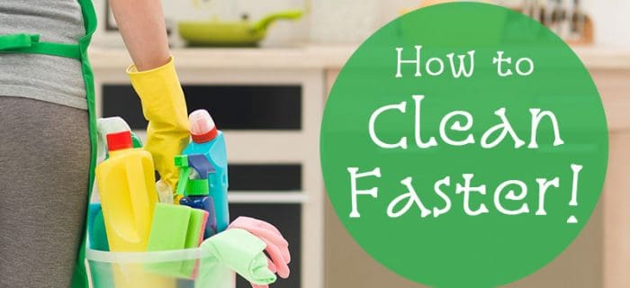 How to Speed Up Housework