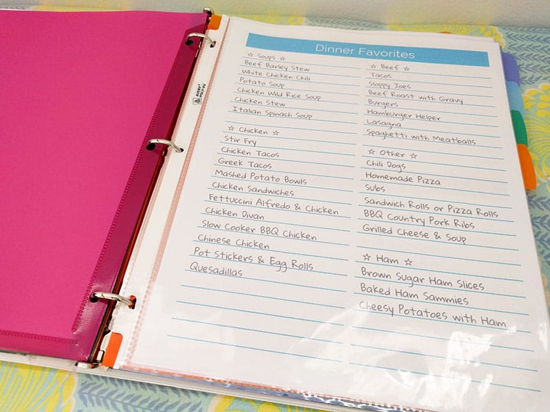Click Here to Take a Look at the Complete Meal Planning Guide