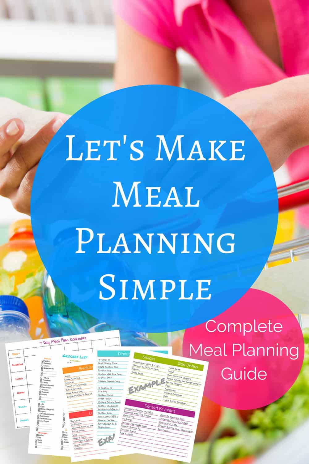 Let\'s Make Meal Planning Simple - The (mostly) Simple Life