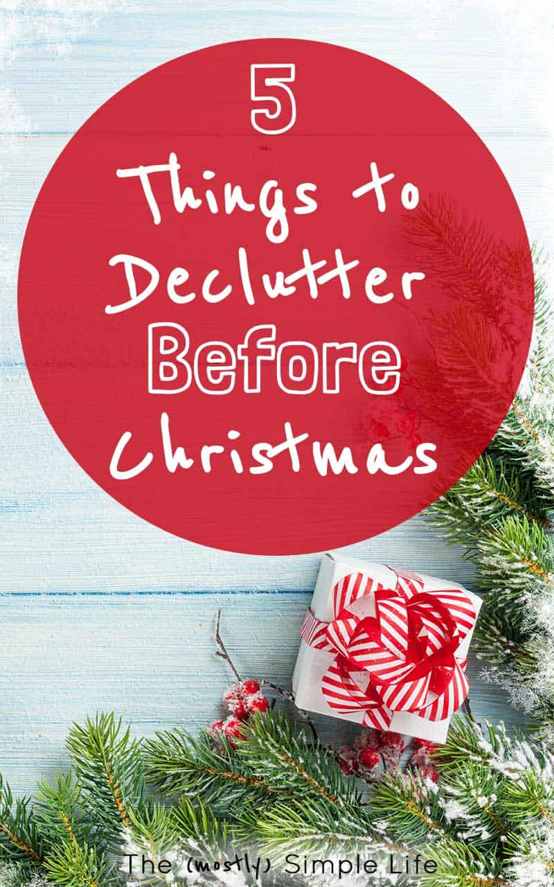 Awesome checklist for what to get rid of before Christmas so that the house isn't full of clutter after the holidays. Tips for exactly what to declutter and how to handle toys (everyone's nemesis!). I'm feeling all kinds of motivation to get my house in order! Printable checklist - printing now...