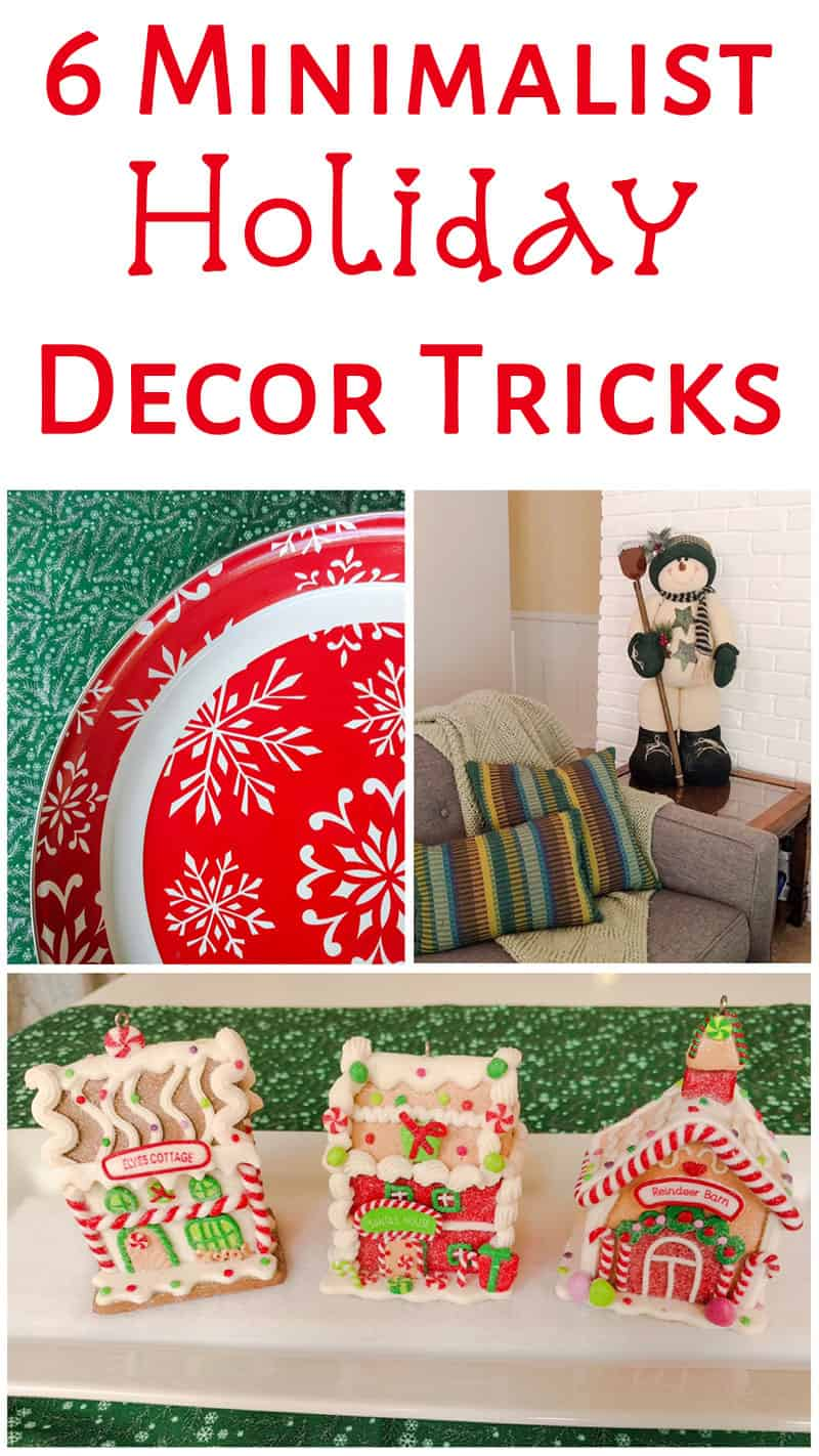 6 Minimalist Holiday Decor Tricks