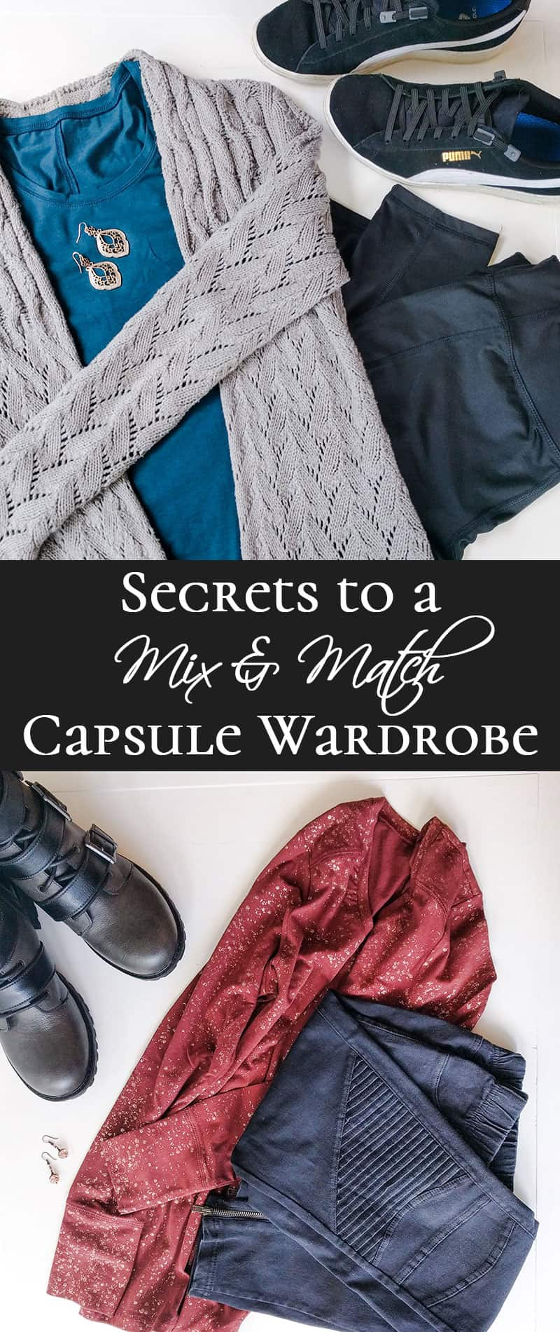 Secrets to a Mix & Match Cold Weather Wardrobe