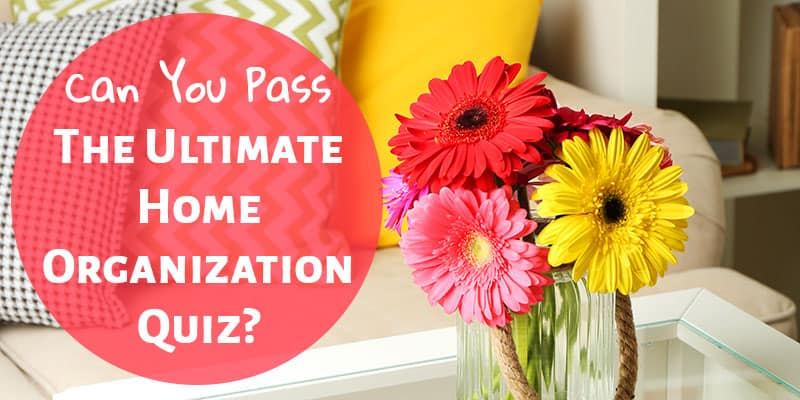 Can You Pass the Ultimate Home Organization Quiz? Answer These 3 Questions!