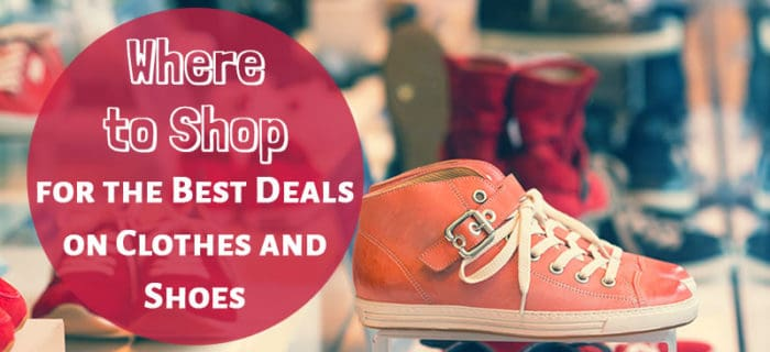 Where to Shop for the Best Deals on Clothes and Shoes