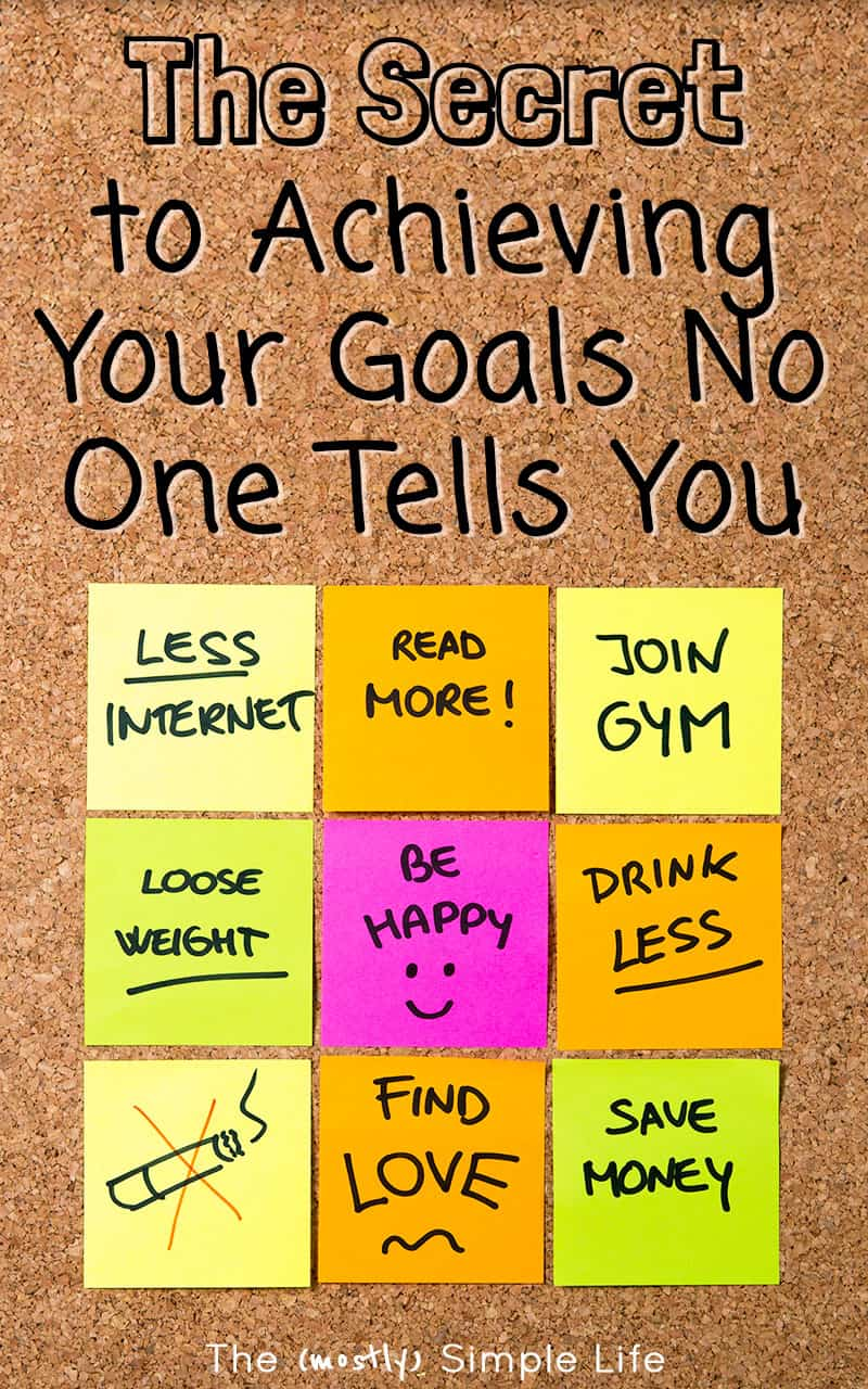 So GOOD - tips on how successful people achieve goals and make new year's resolutions happen! I'll be using this secret this year for sure. #goals #newyearsreolutions #weightloss #health #entrepreneur #inspiration #motivation #secret