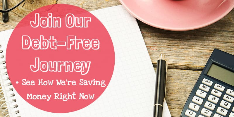 Join Our Debt Free Journey + See How We're Saving Money