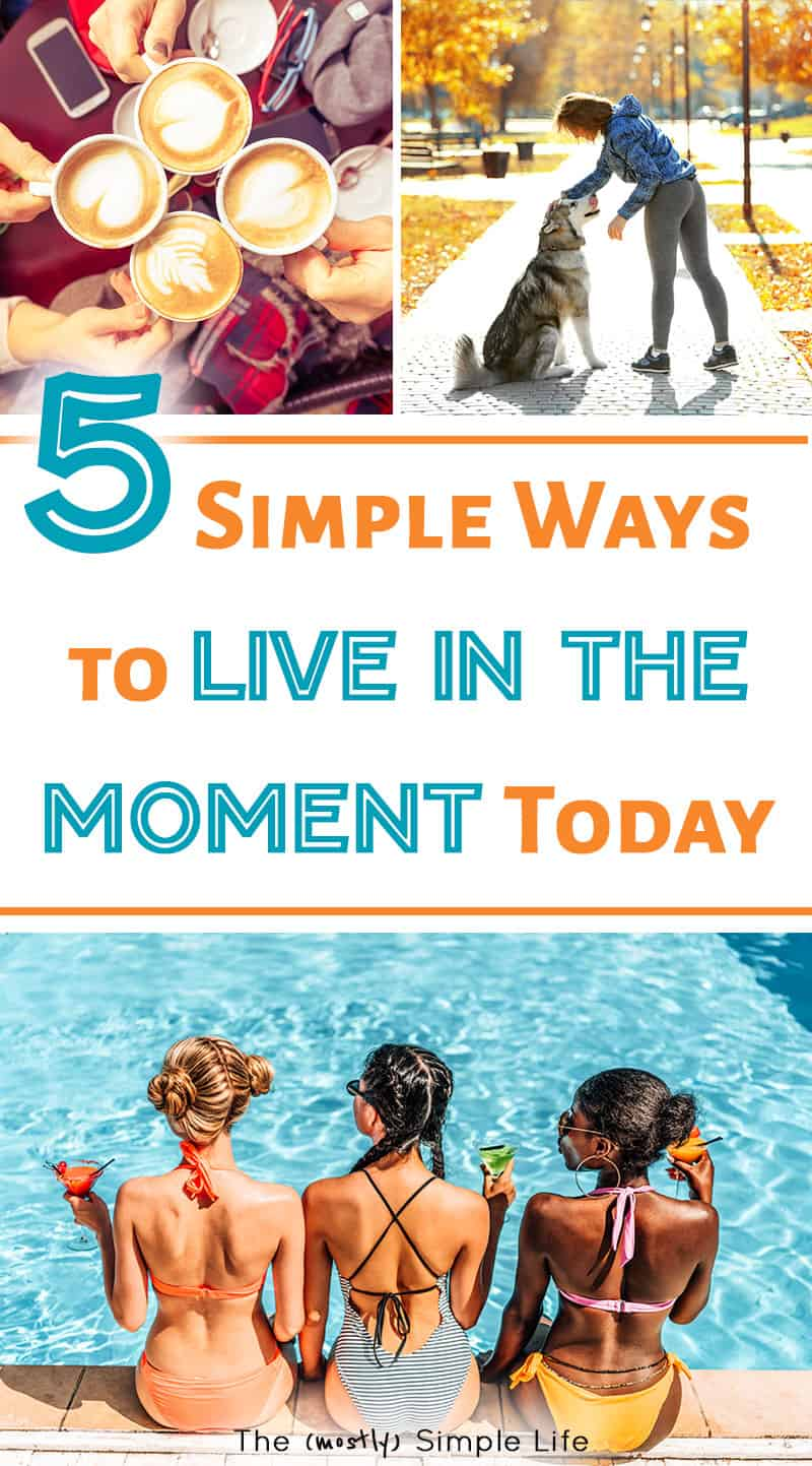 It takes effort to learn how to live in the moment! Better relationships with loved ones, kids, and more happiness in your life y'all! Love these tips for being present and using more mindfulness in your life. #mindfulness #happiness #lifehack #liveinthemoment #inthemoment